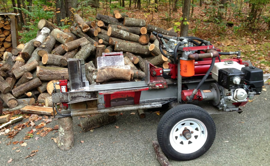 how to build a log splitter free plans - Home Built Log Splitter Plans